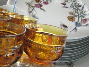 Low-Cost Dinnerware at Providence Thrift Store